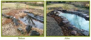 Yard Pond Remodeling