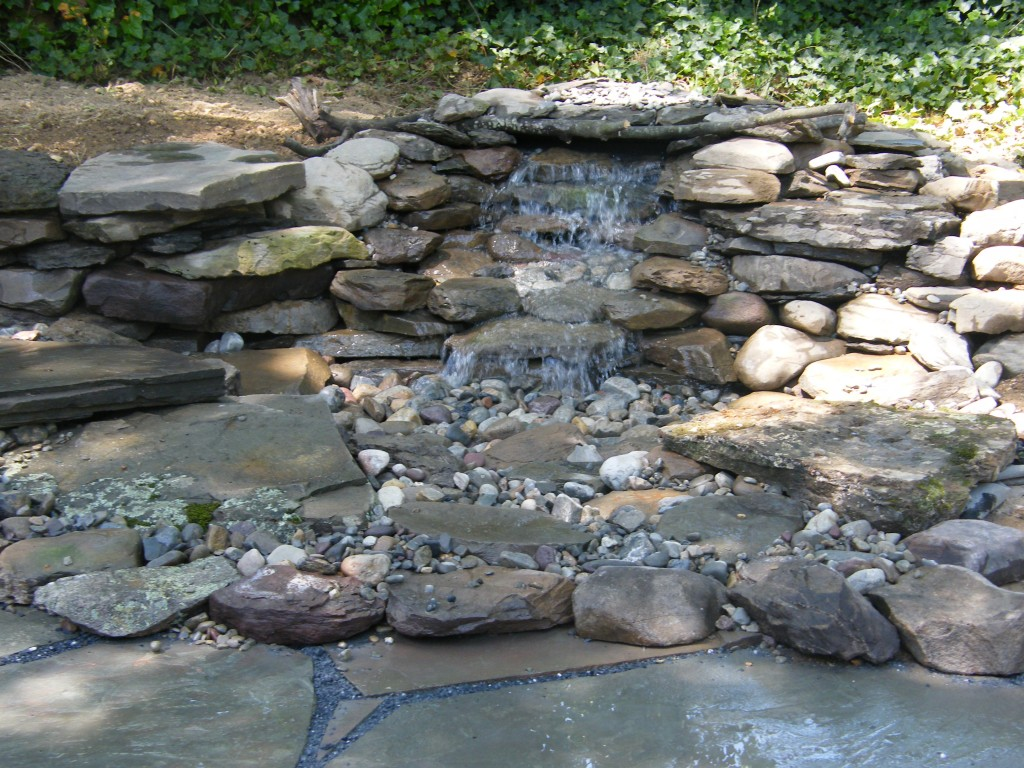 Atlantic ponds pondless waterfalls for Waterfall features