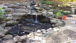 building a pondless waterfall