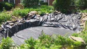 pond remodeling