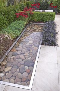 Constucting and cleaning rectangular pond