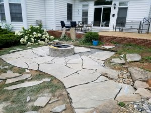 Patio construction and managing