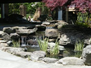 water feature cascade