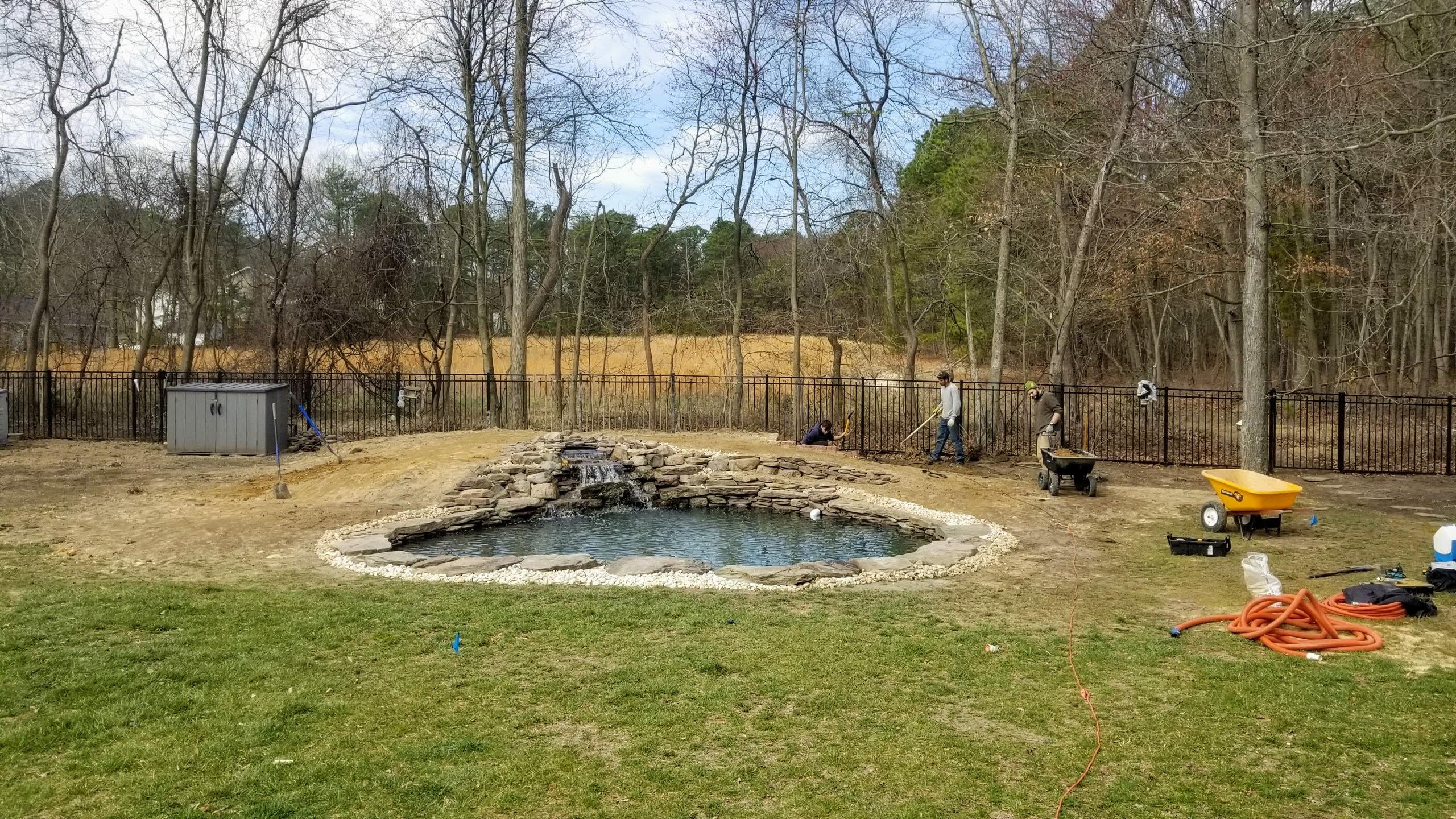 Pond in Severn, MD
