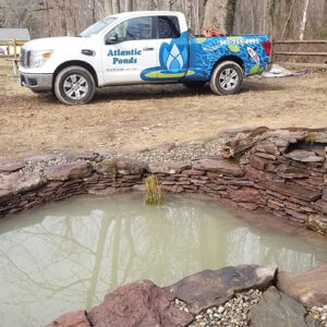 Atlantic-Ponds-Staff-On-Pond-Project-Site