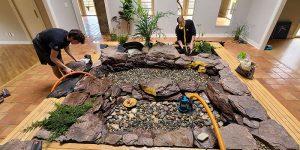 Building an Indoor Pond
