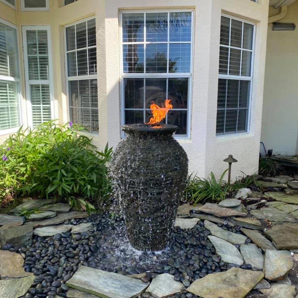 Fire Urn Fountain