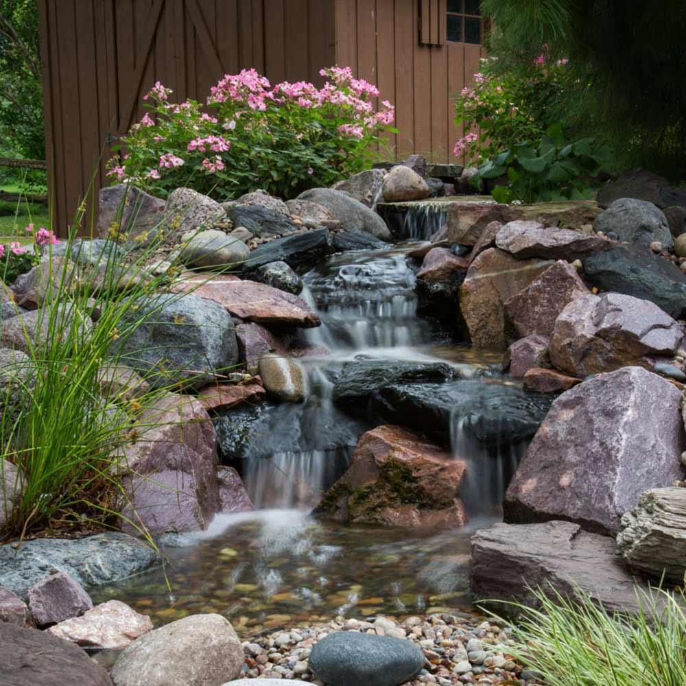 Natural Pondless Waterfall