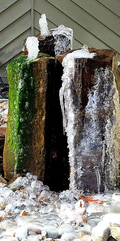 Rock Column Waterfall