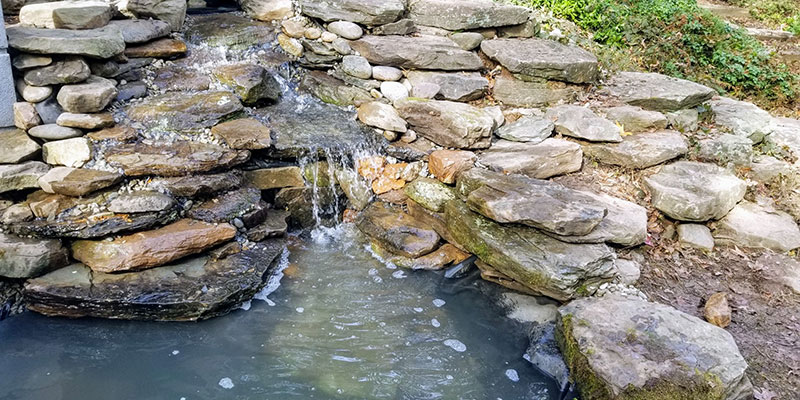 Small-Natural-Channel-Leads-Into-Pond